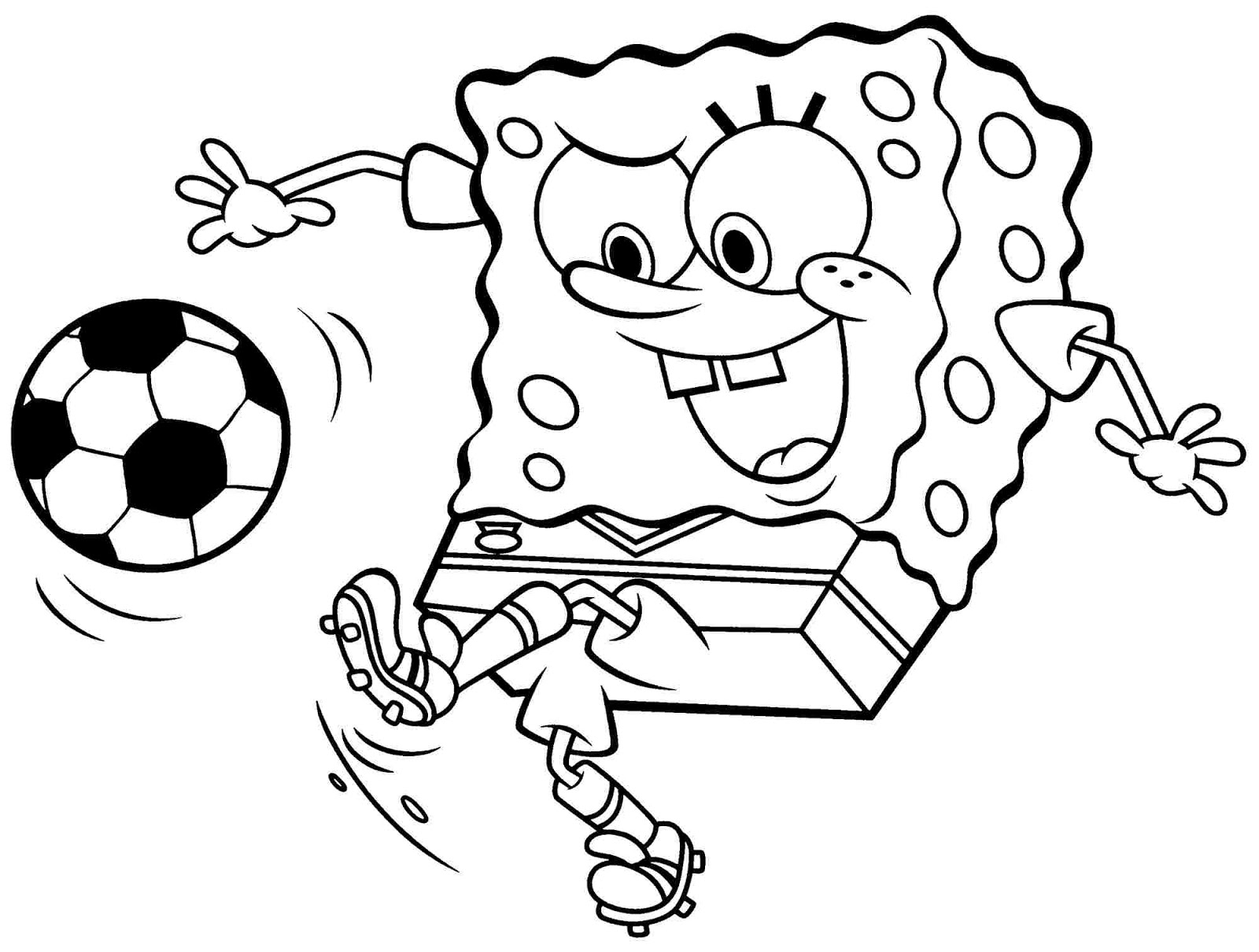 Paginas Para Colorear Gratis: Spongebob Coloring Pages Free