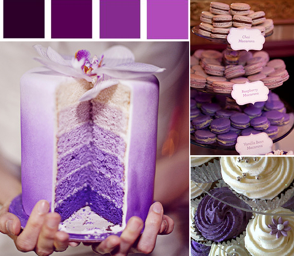 Purple Wedding Themes Ideas: Platinum Touch Events: {Color Crush} Shades Of Purple