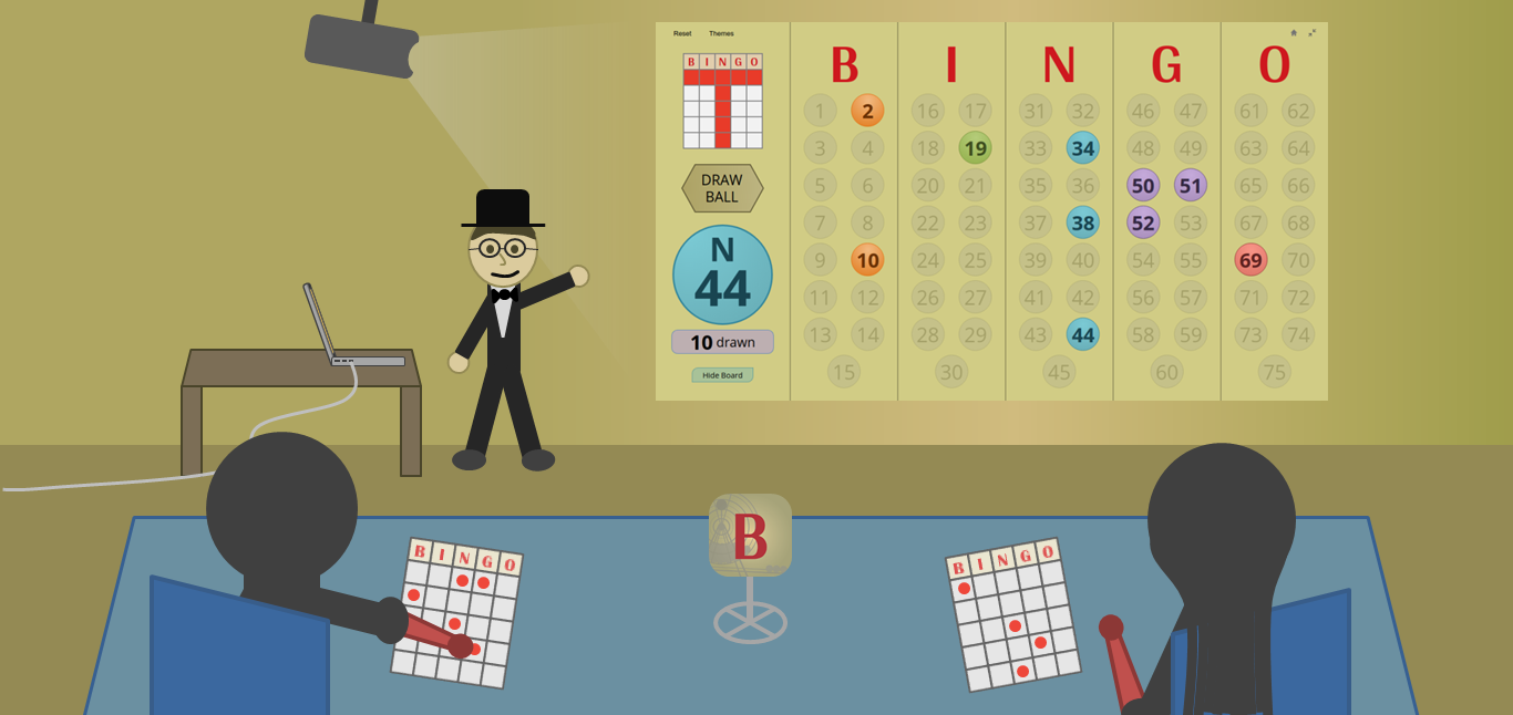 master - Bingo Master Board for Web BoardReborn