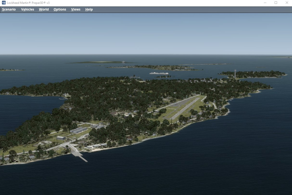South West Flight Simulation: Scenery Solutions XpressSim: Low Cost