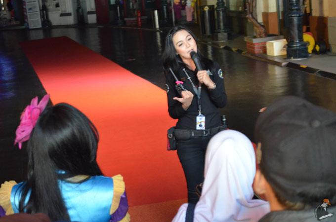 Cewek Cantik di Trans Studio Bandung
