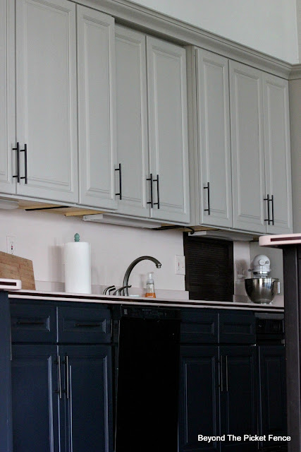 Beyond The Picket Fence: Painting Cupboards with Fusion ...