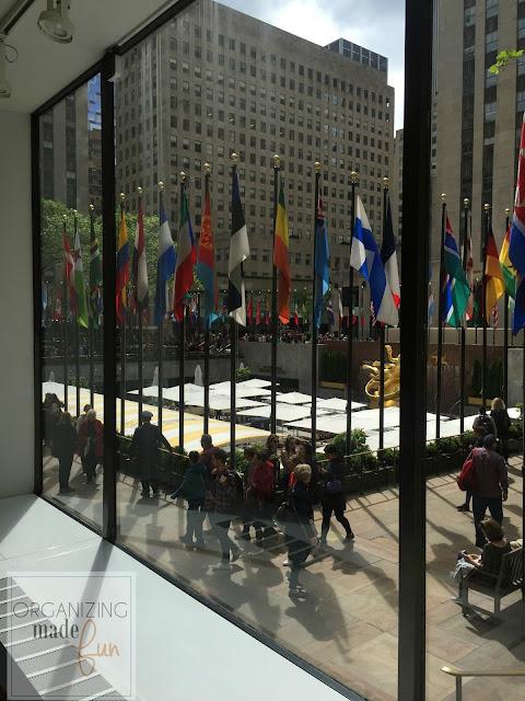 Rockefeller Plaza - NYC visit organized