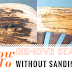 How To Remove Wood Stain Without Sanding