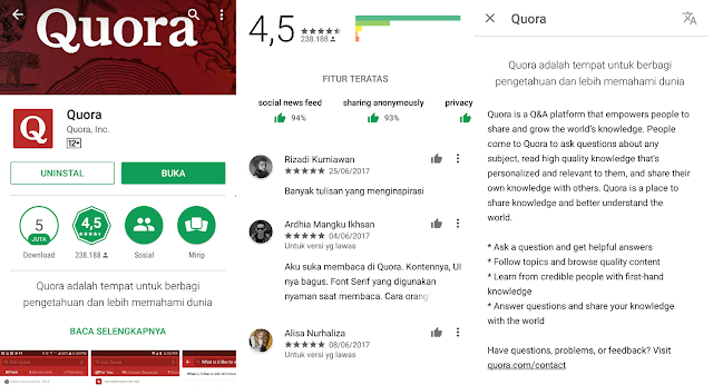 Quora, Aplikasi Penjawab Segala Rasa Penasaran