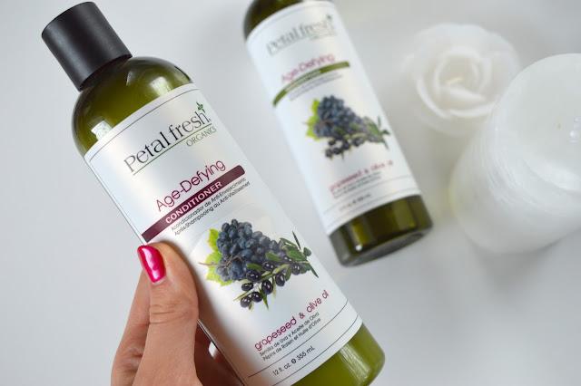 Petal Fresh Organics Grapeseed & Olive Oil odżywka