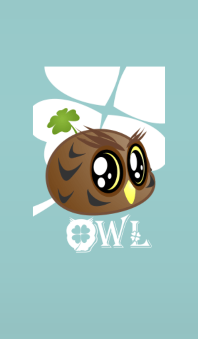Cute Owl (Lucky clover)