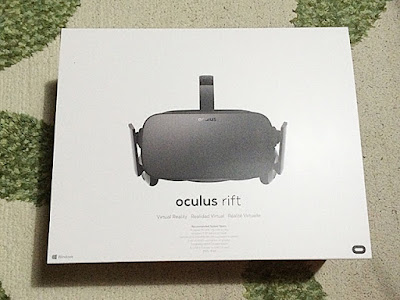 Oculus Rift外箱
