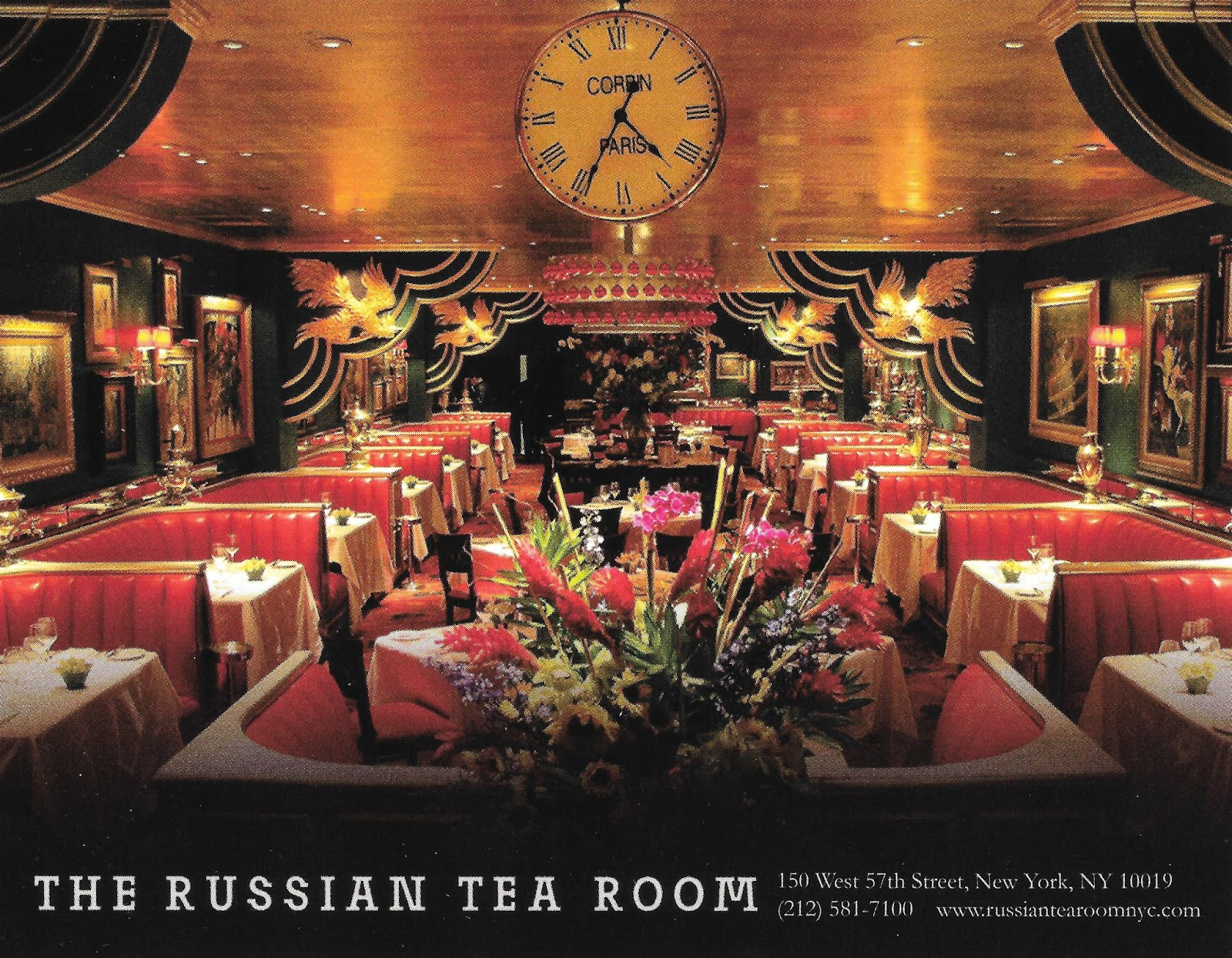 Relevant Tea Leaf: The Russian Tea Room, NYC