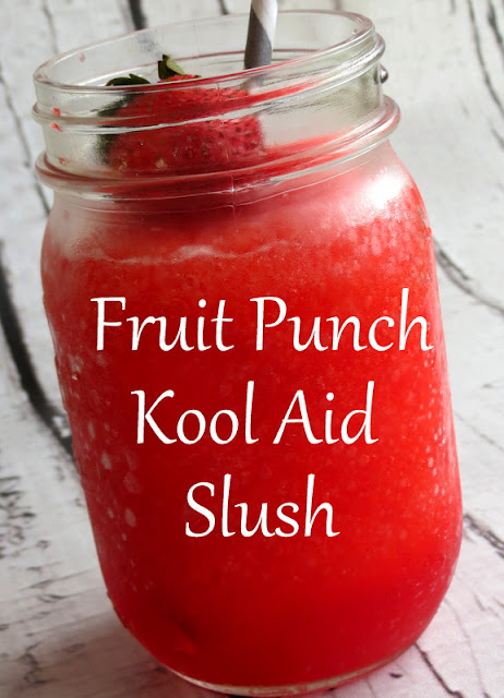 Easy summer fruit punch slush the taylor house i love recipes that are easy to change and customize to what we have on hand at home fandeluxe Choice Image