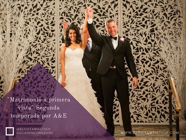 Matrimonio In Vista : Series quot matrimonio a primera vista segunda temporada