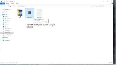 Gambar file setelah berhasil di kompres