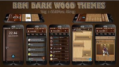 BBM Dark Wood