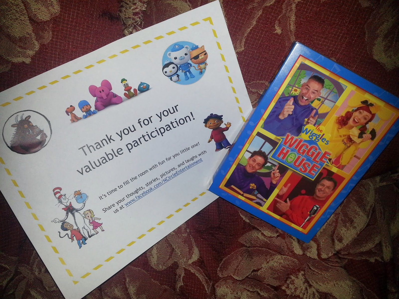 Momma4Life: NCircle The Wiggles Wiggle House Dvd Review 2/24