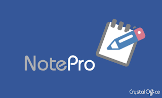 crystal office systems note pro