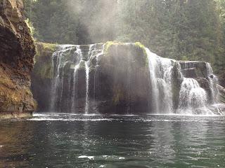 Lower Lewis Falls On West Coast Road Trip
