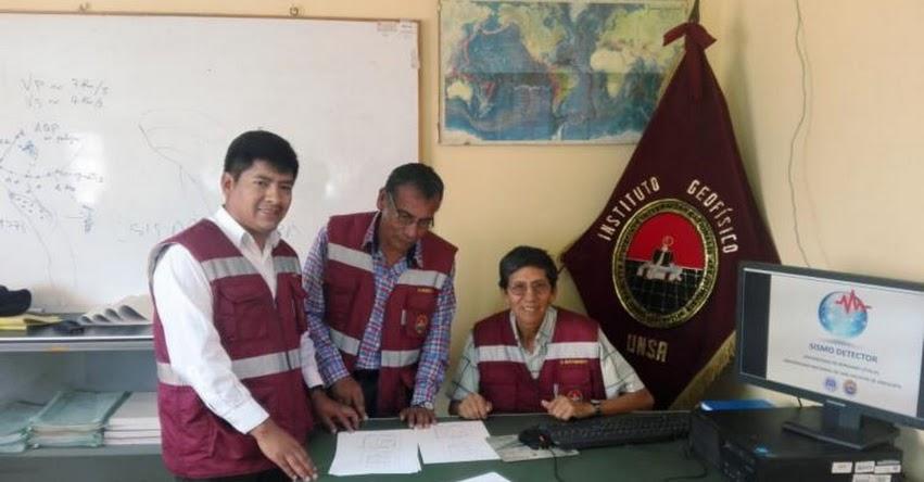 UNSA: Desarrollan aplicación para usar celular como sistema de alerta temprana en la Universidad Nacional de San Agustín de Arequipa