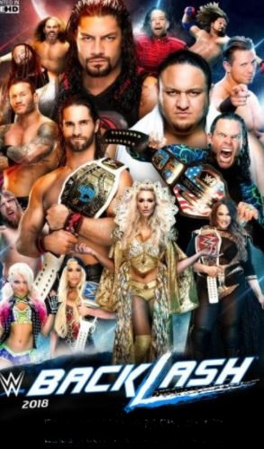 WWE Backlash PPV 6th May 2018 Full Show 700MB WEB-DL 480p x264