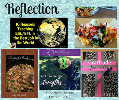 Blog With Friends, multi-blogger posts. This month's theme: Reflection | Shared on www.BakingInATornado.com | #recipe #DIY