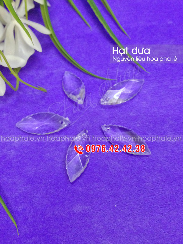 Hạt dưa - Nguyên liệu hoa pha lê