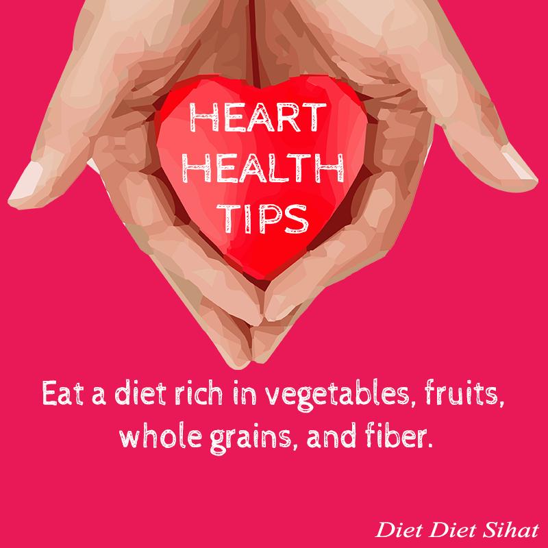 tips jaga jantung