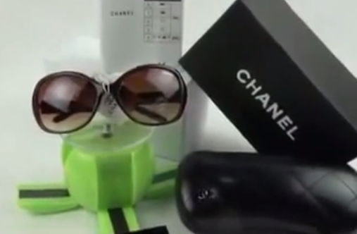 600cfa71059 These Chanel sunglasses reviews are in overall good condition. There are  light scratches on the right lens. They do not ship with a designer case.