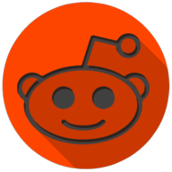 reddit colorful button