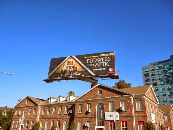Flowers in the Attic billboard