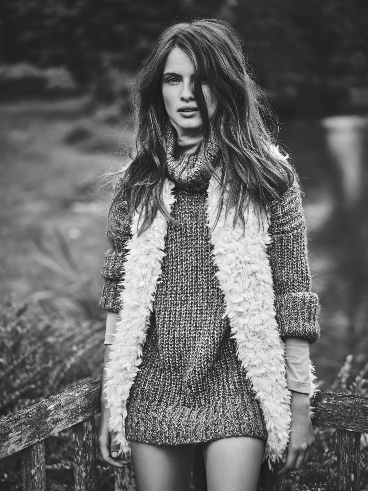 Kristina Peric Models Dreamy Looks for FASHION by Chris