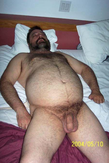 Gay Hairy Bear Dad - Cumception-1861