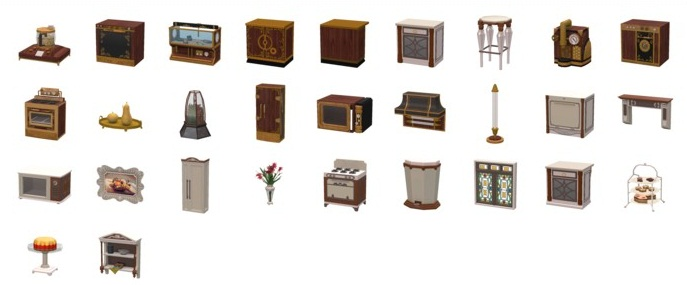 Sims  Edwardian Expression Kitchen Set