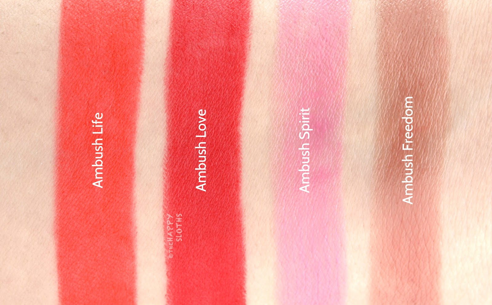 Shu Uemura x AMBUSH Collection | Rouge Unlimited Lipsticks: Review and Swatches