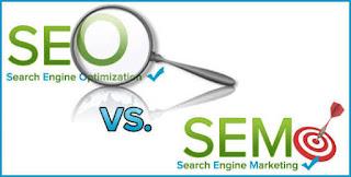 Perbedaan fungsi SEO dan SEM