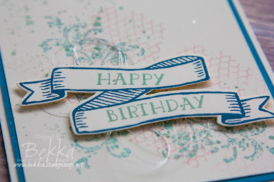 Birthday Card made using Stampin' Up! UK Supplies which you can buy here