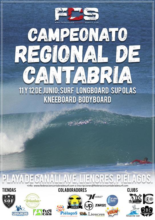 Campeonato de Cantabria de Surf en Liencres