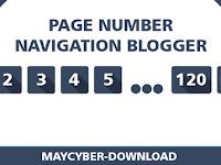 Cara Membuat Page Number Navigasi di Blogger Responsive