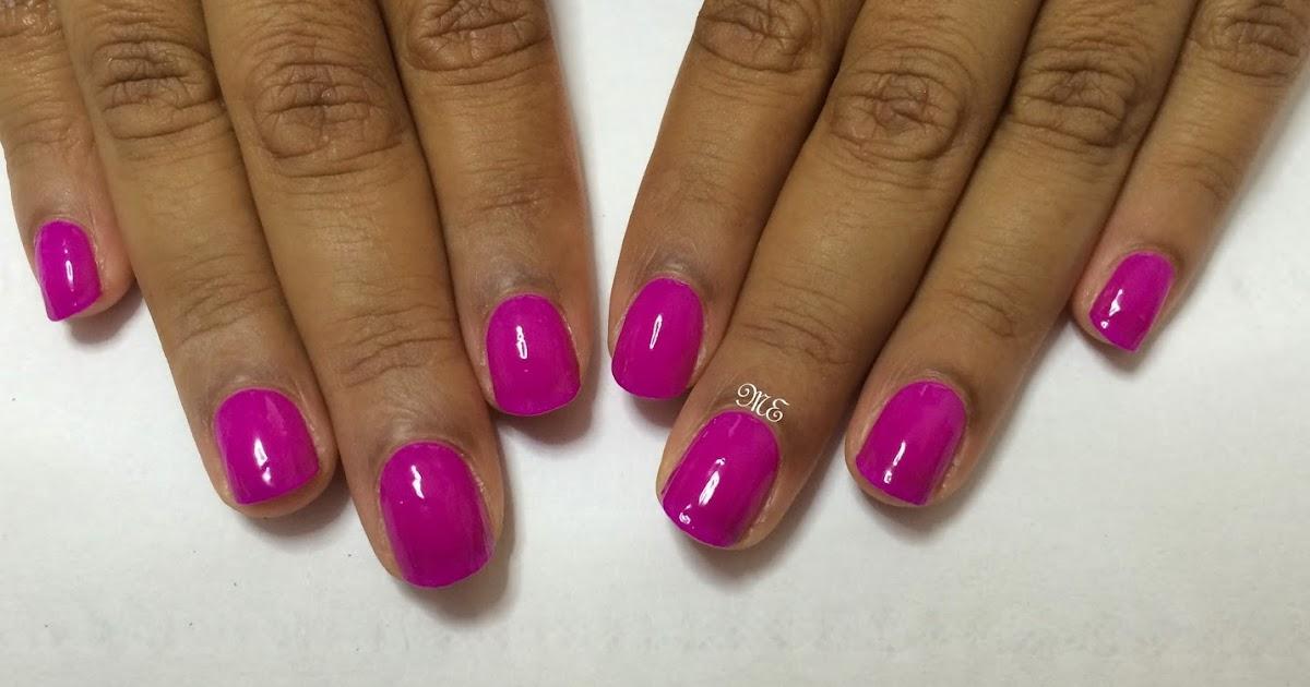 Miriam Elizabeth Nails By Gelish Persian Purple