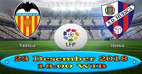 Prediksi Bola855 Valencia vs Huesca 23 Desember 2018