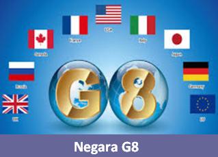 Apa itu negara G8 dan Anggota G8