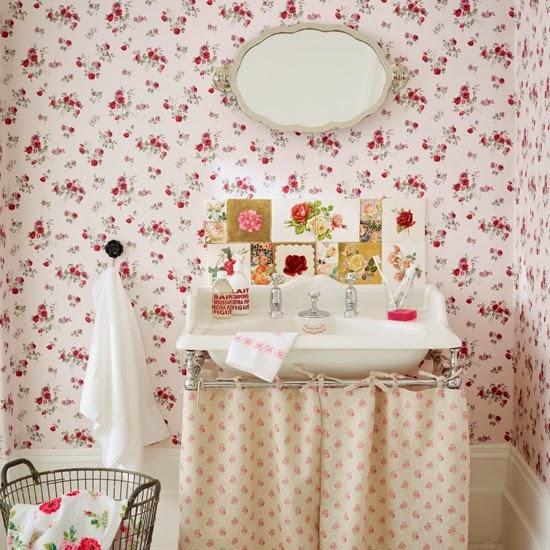 Zg ll k duvar ka d le dekore edilmi evler b l m 3 for Vintage bathroom ideas uk