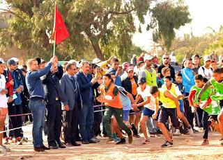 إقليم النواصر البطولة الاقليمية المدرسية للعدو الريفي