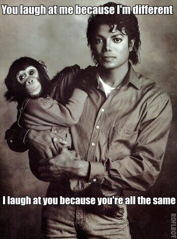 Michael Jackson Different Meme