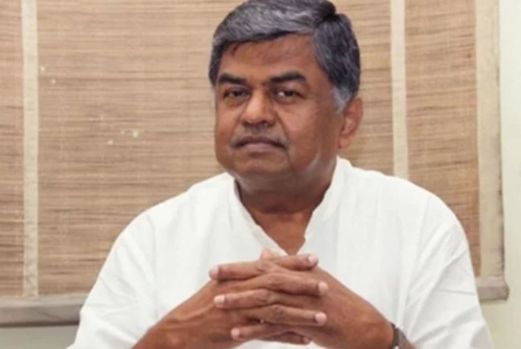 national congress leader and mp bk hariprasad comment on bjp chief amit shah illness
