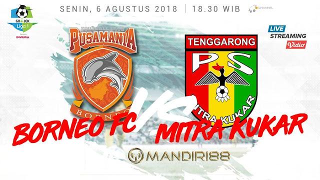 Prediksi Pusamania Borneo Vs Mitra Kukar, Senin 06 Agustus 2018 Pukul 18.30 WIB