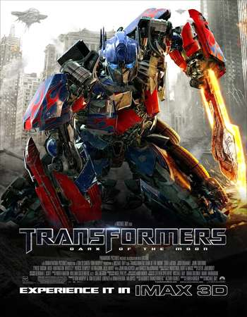 Poster Of Transformers Dark of the Moon 2011 Dual Audio 475MB BRRip 720p ESubs HEVC Free Download Watch Online Worldfree4u