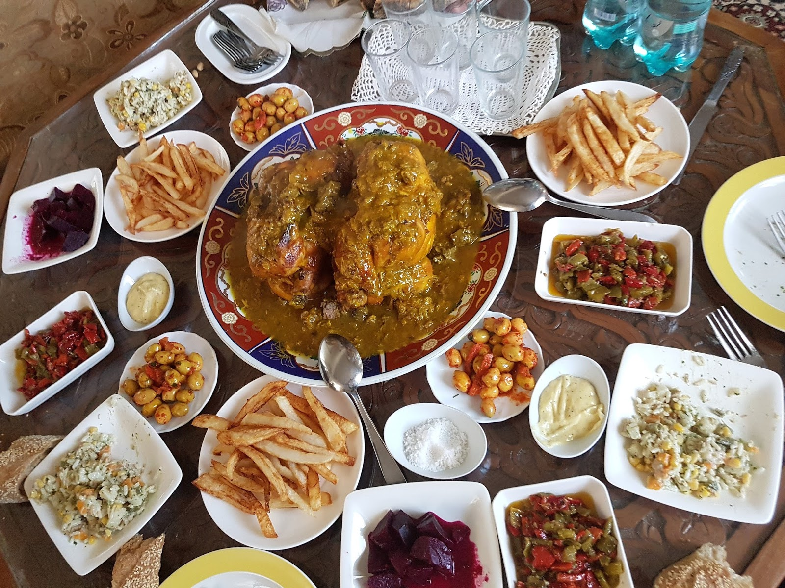 Riad souafine com fes maroc maroc ramadan 2017 for Table marocaine