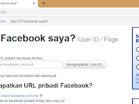 Gagal mencari ID Facebook