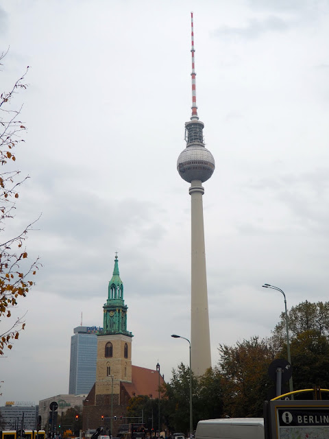 St Mary's Church & Fernsehturm, Berlin, Germany