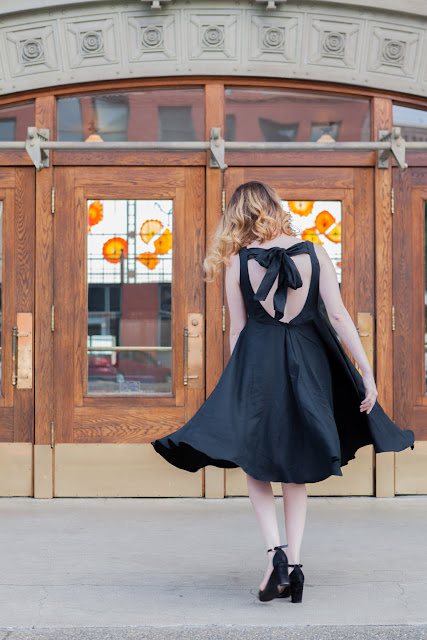 DIY little black dress