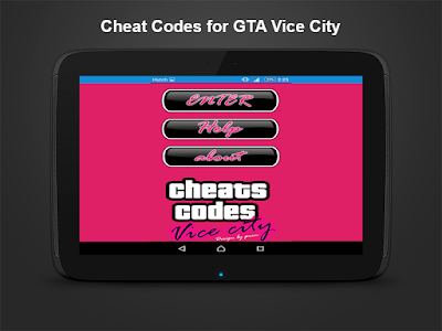 Cheats GTA Vice City Apk For Android